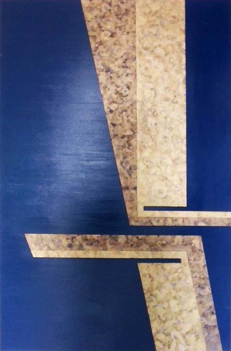 Blue Dream, 150x100, Oil & Acrylic on Canvas