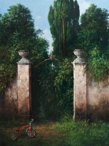 Giardino dell'Hypnos, 40x30, Oil on Canvas