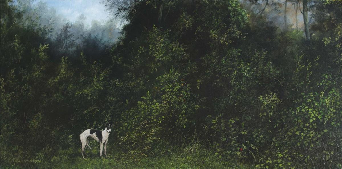Il Caciatore delle Fallene, 40x60, Oil on Canvas