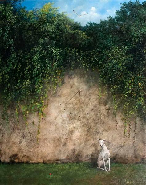 Il Gabbiano Livingston, 50x40, Oil on Canvas