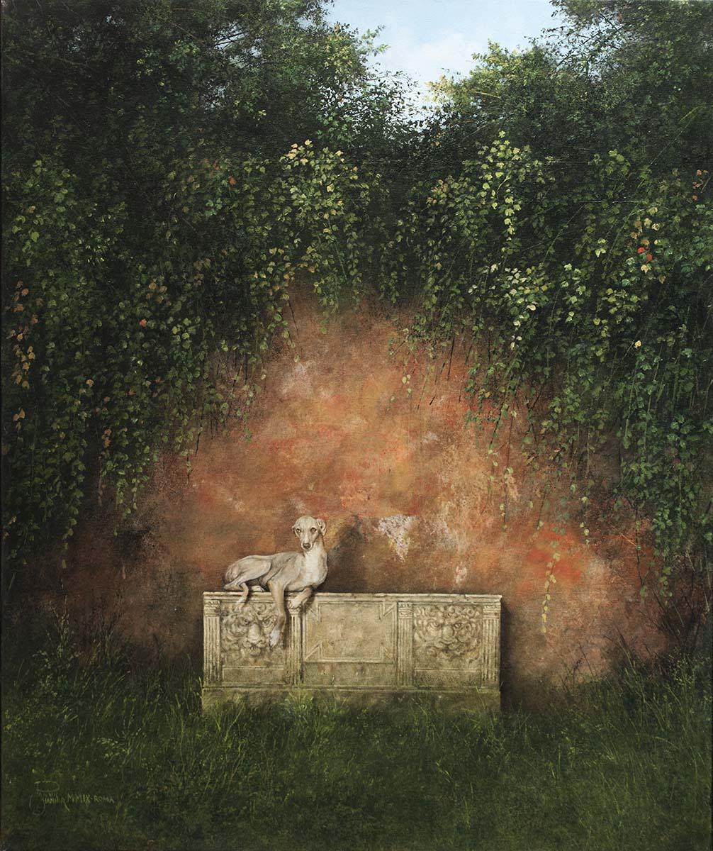 Il Mistero della Rosa Selvaggia, 60x50, Oil on Canvas