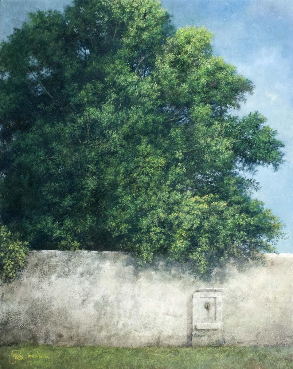Il Nome dell'Acqua, 40x30, Oil on Canvas