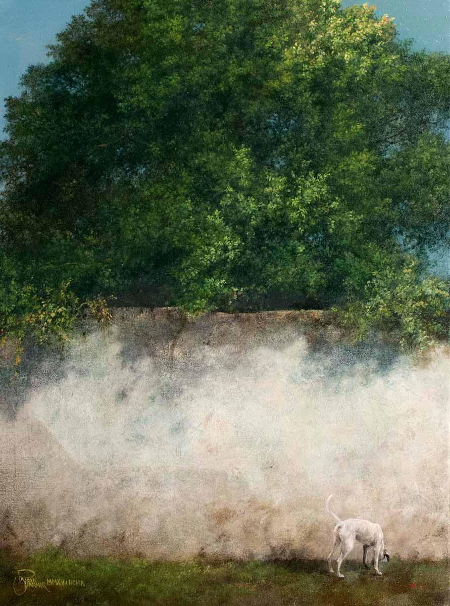 Il Ritorno, 50x40, Oil on Canvas