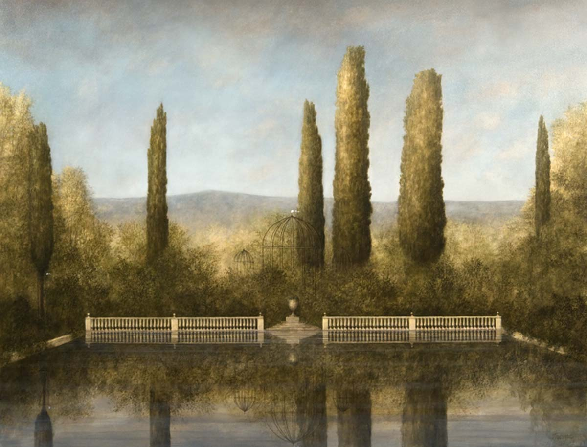 Nymphaeum, 70x90, Oil on Canvas