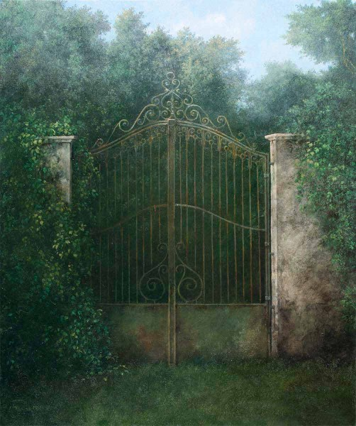 Porta di Ritorno, 60x50, Oil on Canvas