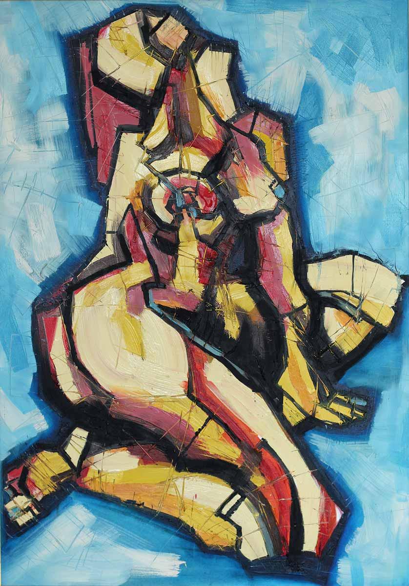 Sky Dream, 100x70, Oil on Canvas