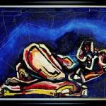 Sleep On A Dance Floor, 30×40, Oil on Canvas, Framed