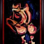 Start In The Dark, 70×50, Oil on Canvas, Framed