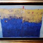Tanker, 95×125, Oil on Canvas, Framed