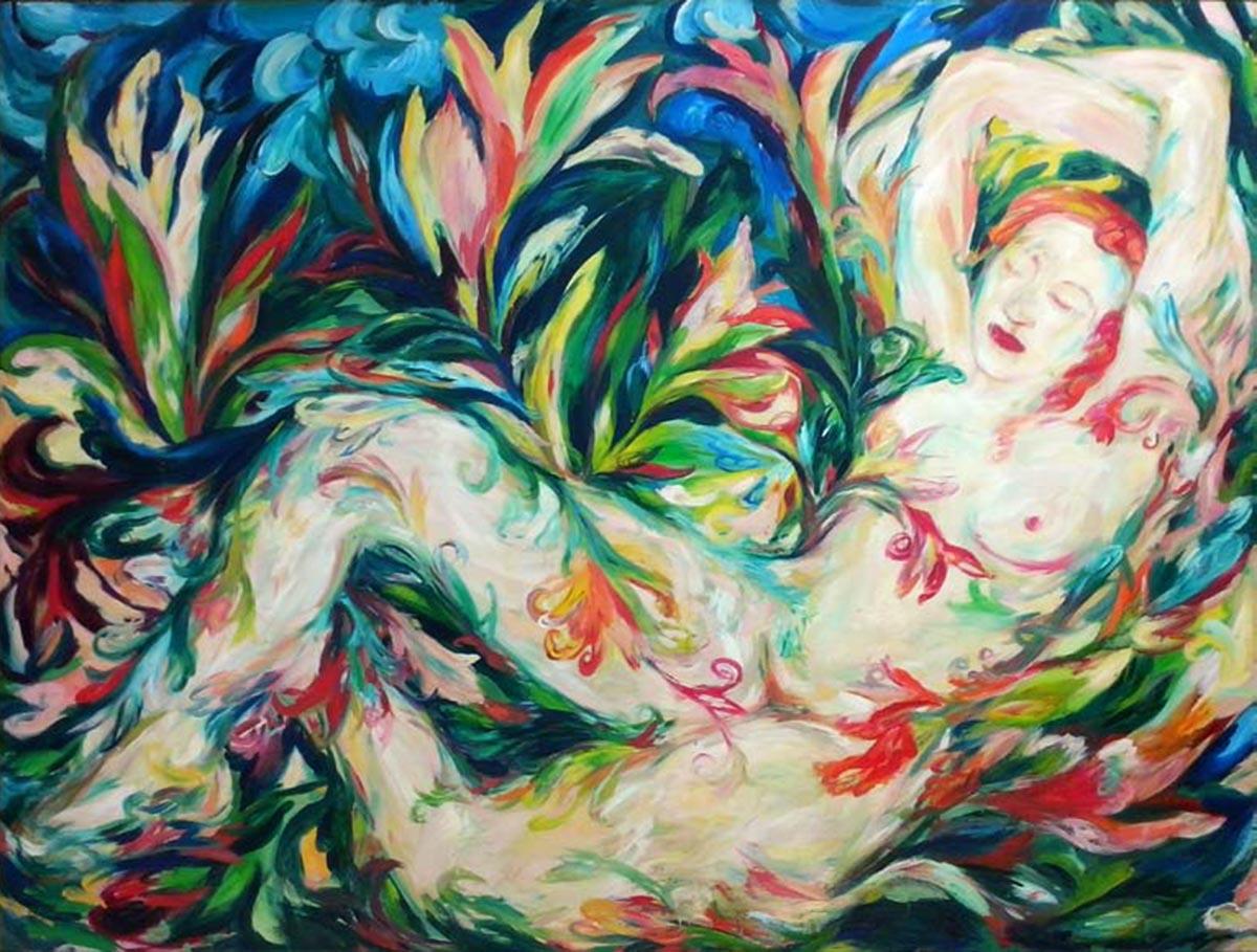 Dreaming Venus, 170x220, Oil on Panel