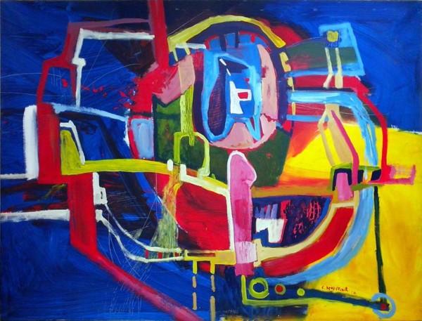 Me Sea Love, 200x290, Oil on Canvas