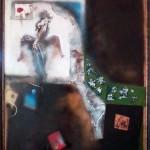 Stamps, 160×110, Oil on Canvas, Framed