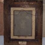Fidanzatini, 45×35, Oil on Canvas, Back