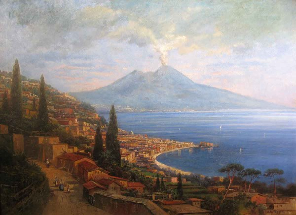 Napoli, 74x104, Oli on Canvas