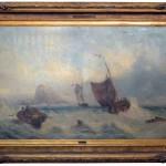 Marina, 77×127, Oil on Canvas, Framed