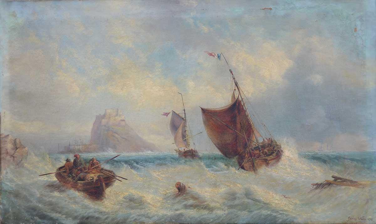 Marina, 77x127, Oil on Canvas