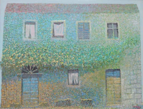 House of Vine, 65x85, Oil on Canvas