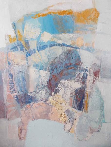 Around the Kaleidoscope, 80x60, Oil on Canvas