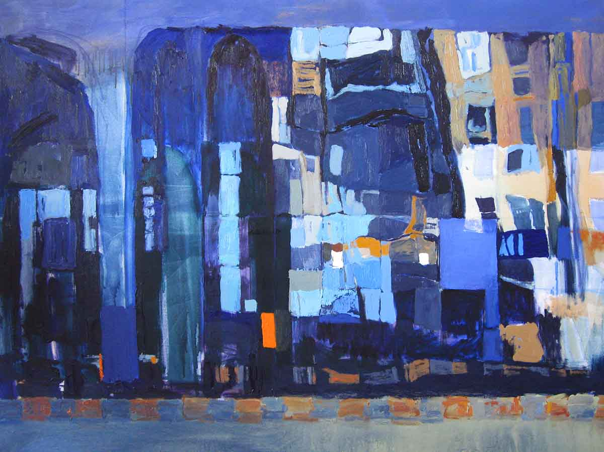 Ayvalik, 100x135, Oil on Canvas