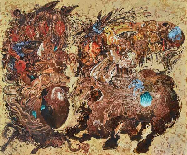 Dream, 82x100, Oil on Canvas