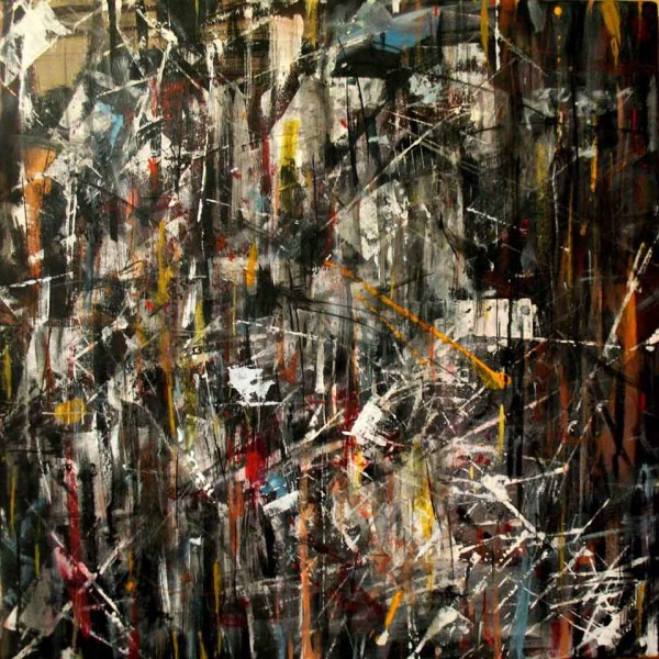Lilu, 60x60, Acrylic on Canvas
