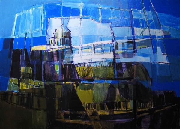 London, 70x100, Oil on Canvas