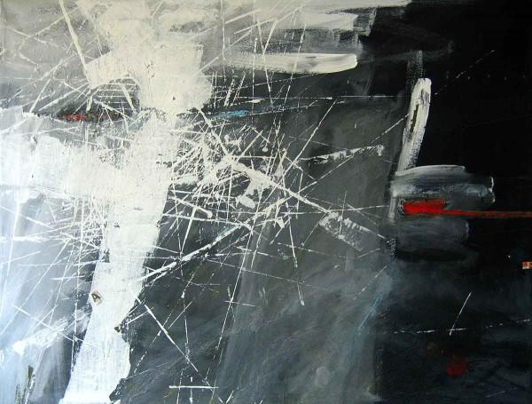 Meeting, 60x80, Acrylic on Canvas