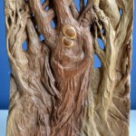 El Sueño (Dream) 2, 35x24x3, Woodcarving