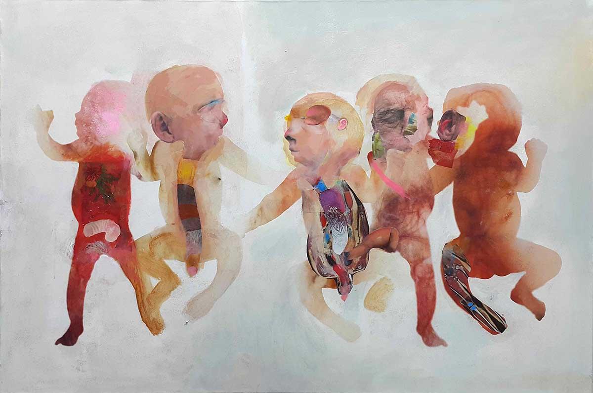 Initium-1, 100x150, Oil on Canvas