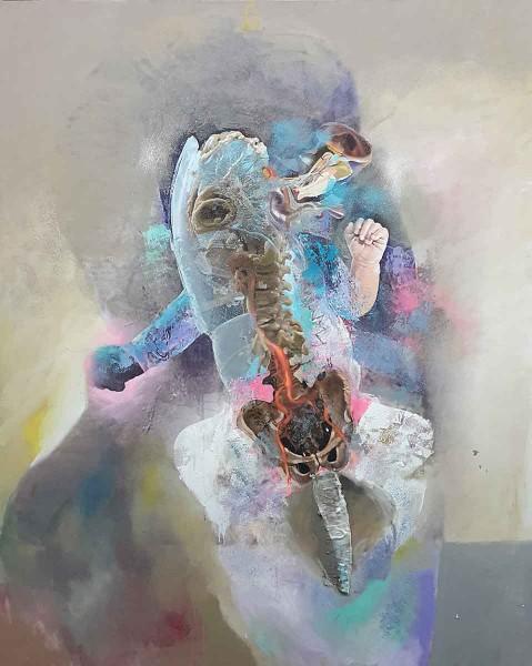 Initium-10, 200x160, Oil on Canvas