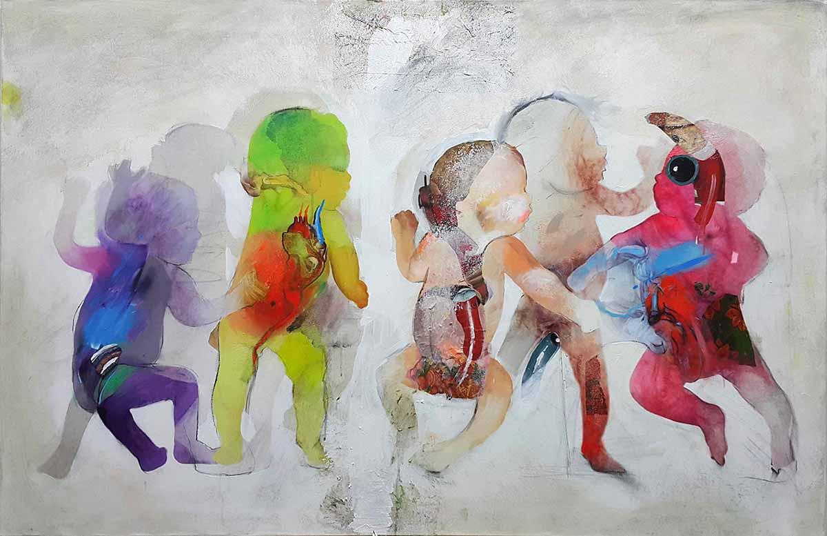 Initium-2, 100x150, Oil on Canvas