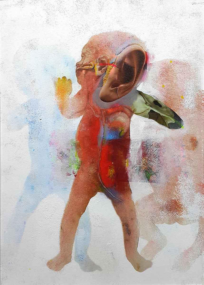 Initium-3, 100x70, Oil on Canvas