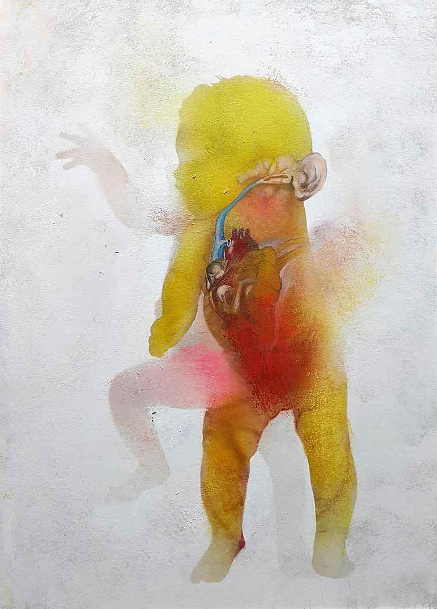 Initium-5, 100x70, Oil on Canvas