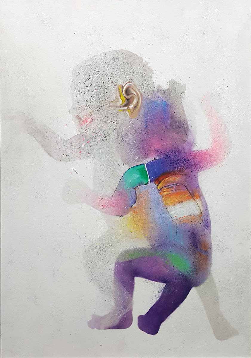 Initium-7, 100x70, Oil on Canvas