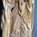 Quo Vadis 2, 61x31x4, Woodcarving
