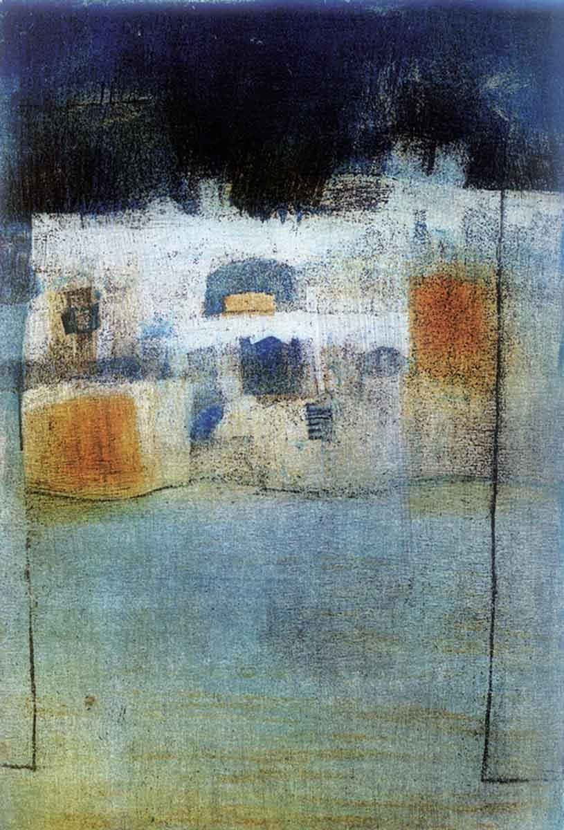 Alley 3, 25x17, Aquatint on Paper