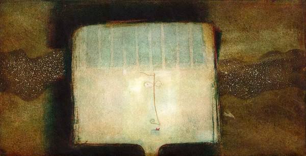 Fellini, 25x50, Aquatint on Paper