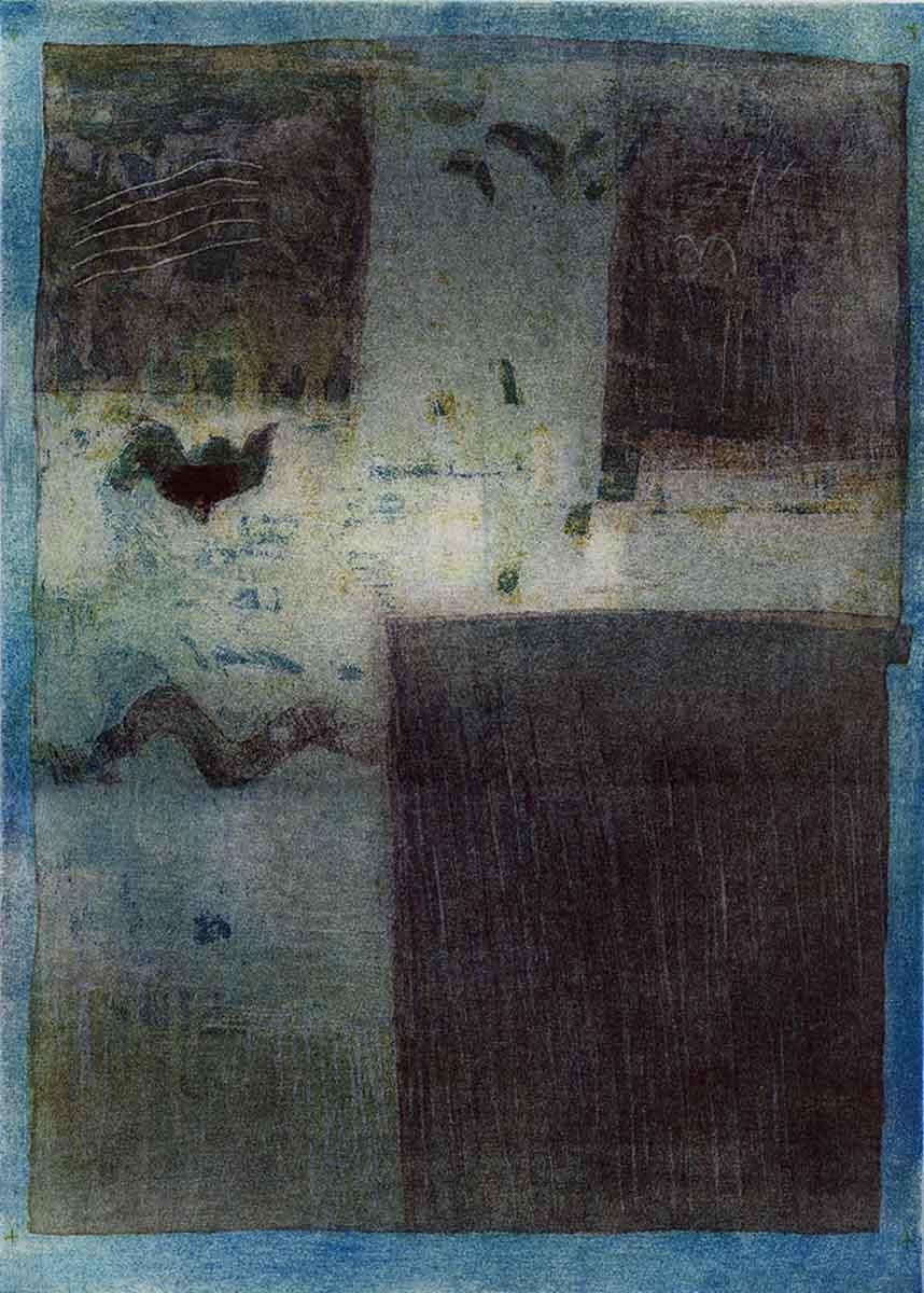 Greece 2, 41x29, Aquatint on Paper