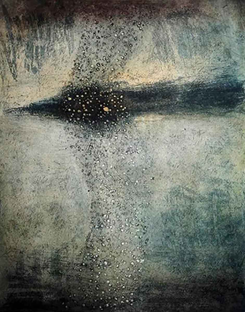 Milky Way 2, 35x28, Aquatint on Paper