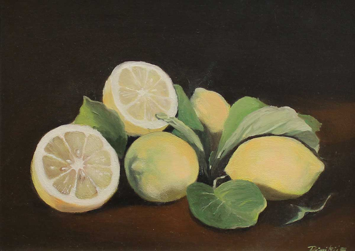 Limoni, 30x40, Oil on Canvas