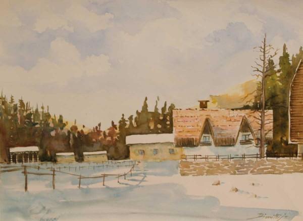 Monte Cragnisca, 28x38, Watercolour on Paper