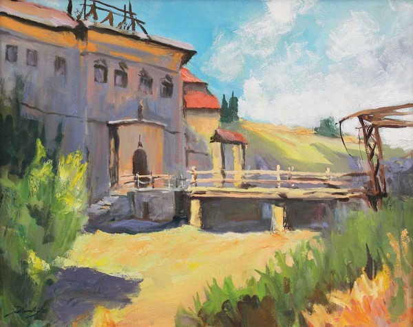 Ponte di Legno, 40x50, Oil on Canvas