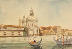 Venezia, 23x33, Watercolour on Paper