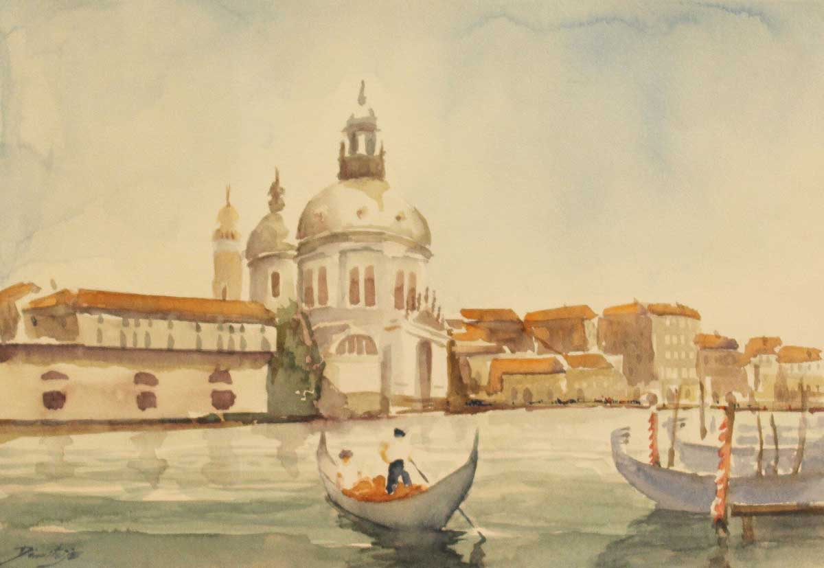 Venezia, 23x33, Watercolour on Paper