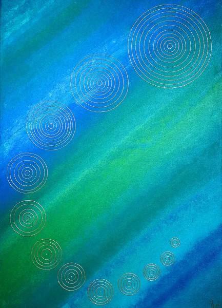 Evolution, 70x50, Acrylic on Canvas