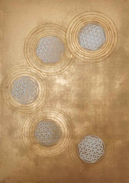 Golden Age, 100x70, Acrylic on Canvas