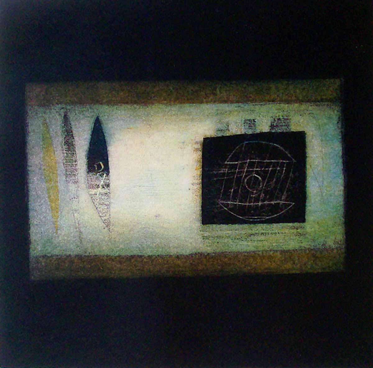 Ocular, 30x30, Aquatint on Paper