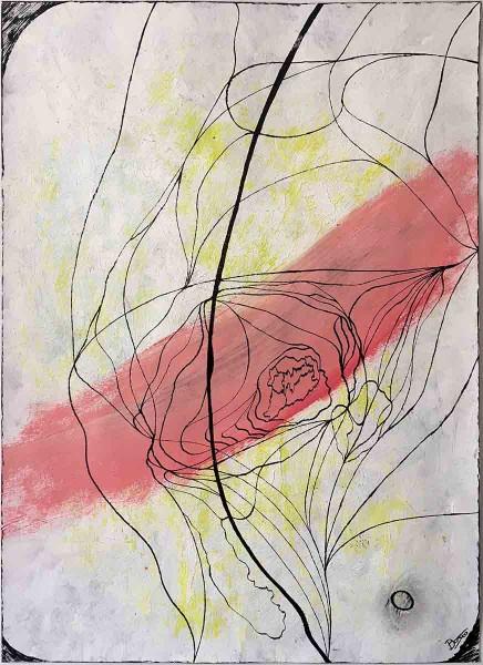 United, 59x42, Acrylic on Paper
